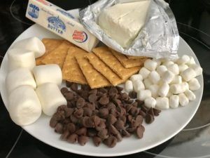 Items Needed For S'mores
