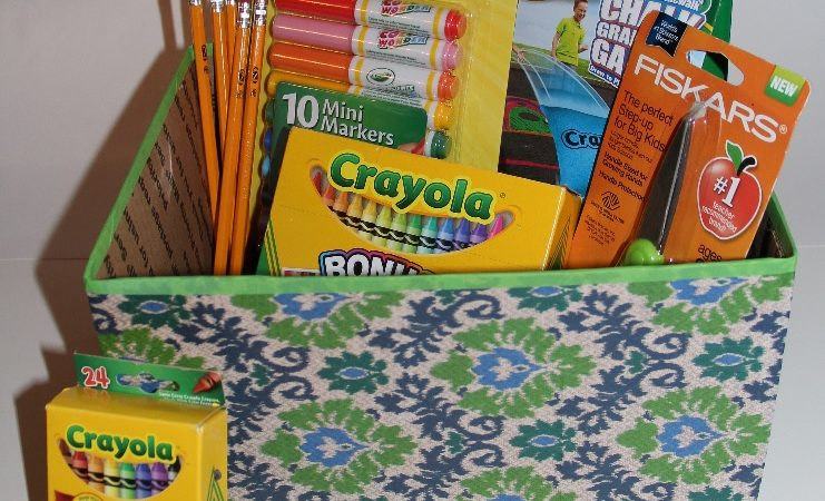The best way to organize for back to school