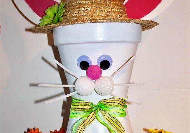 Easy DIY Easter Bunny