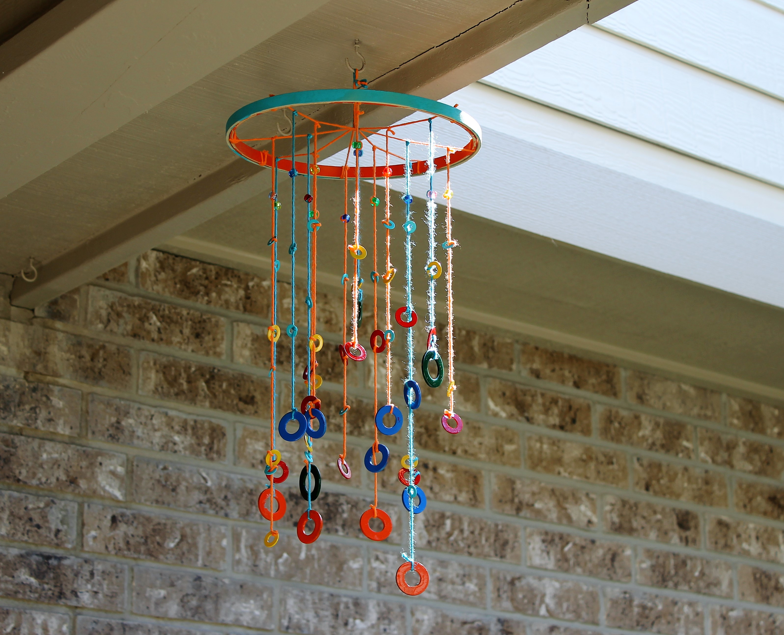 Fun Easy Diy Festive Wind Chime Project For Rustoleum