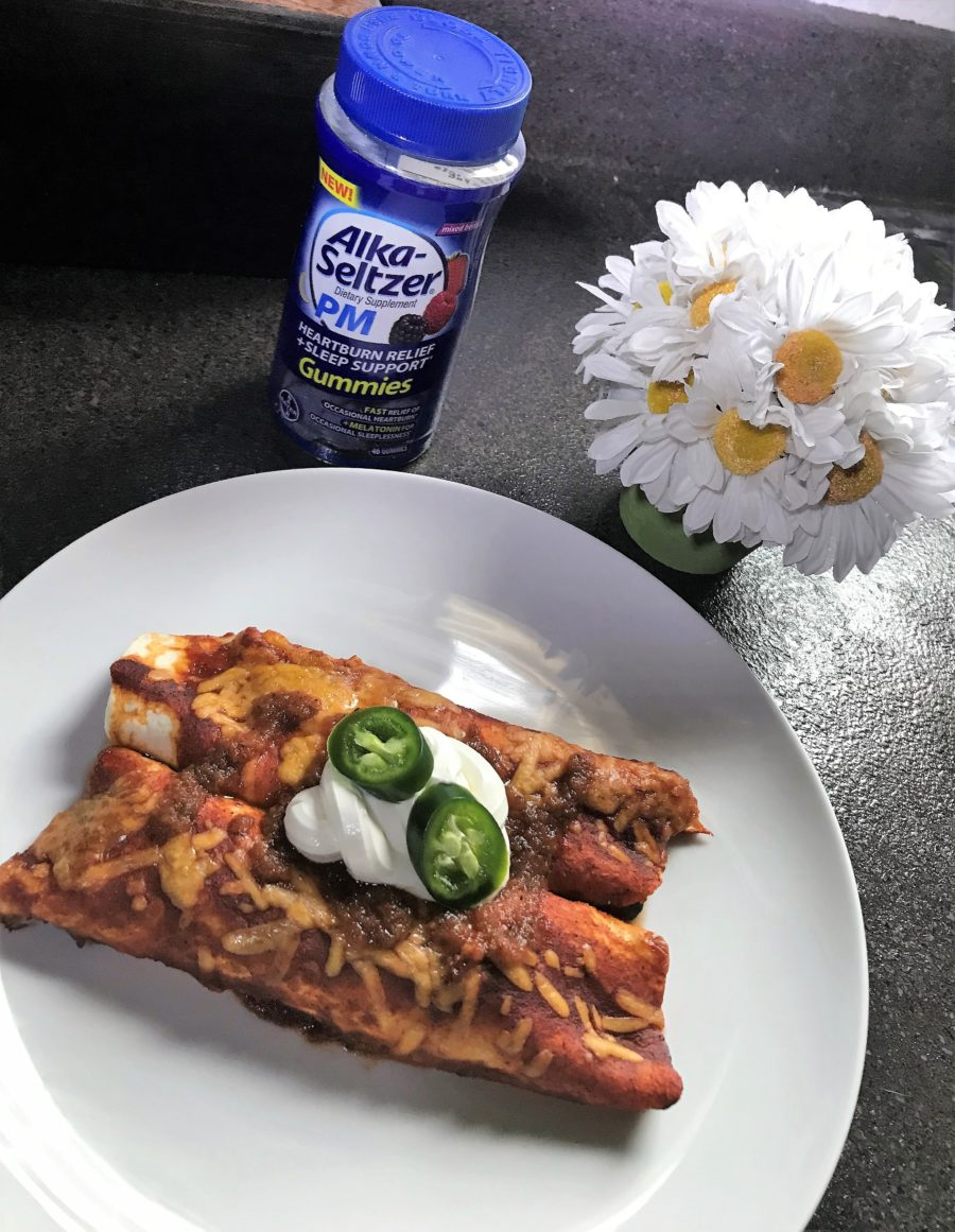 Homemade Spicy Enchiladas