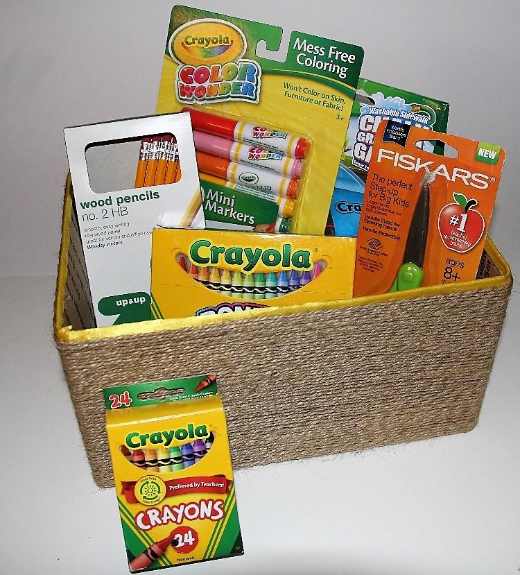 Back To School Organizing Box