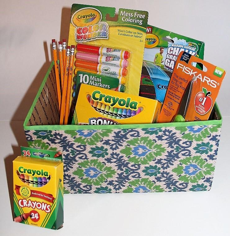 DIY Back To School Organizing Box