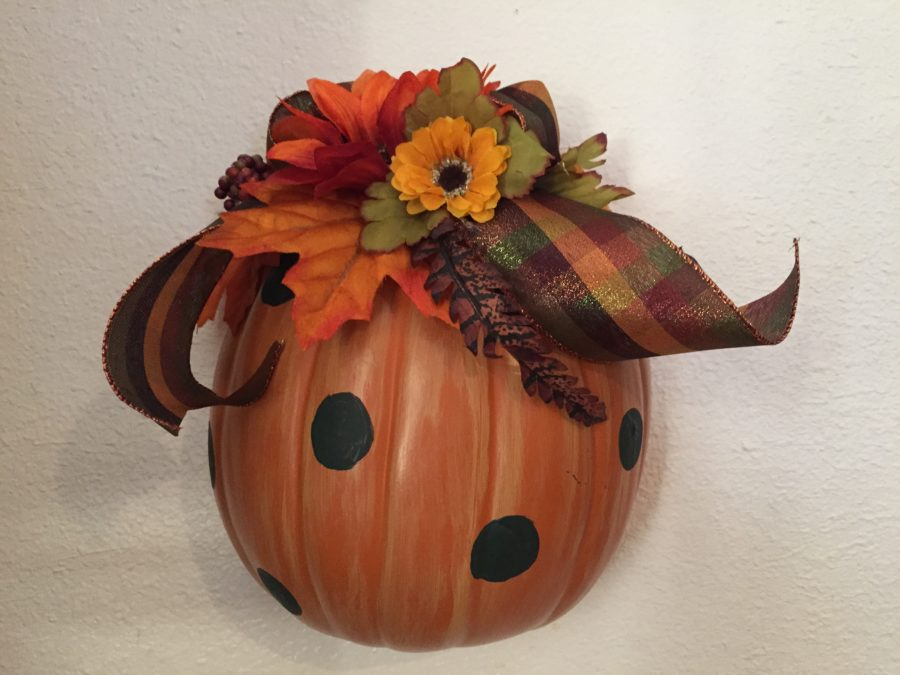 Pumpkin Wall Hanging