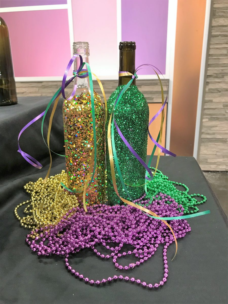 DIY Mardi Gras Party Decor