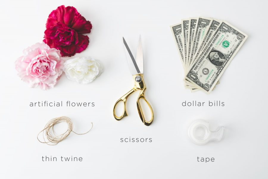 How To Make A Colorful Money Lei