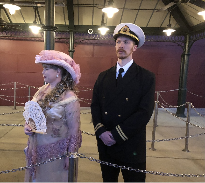 A Trip Back in Time at The Titanic Museum
