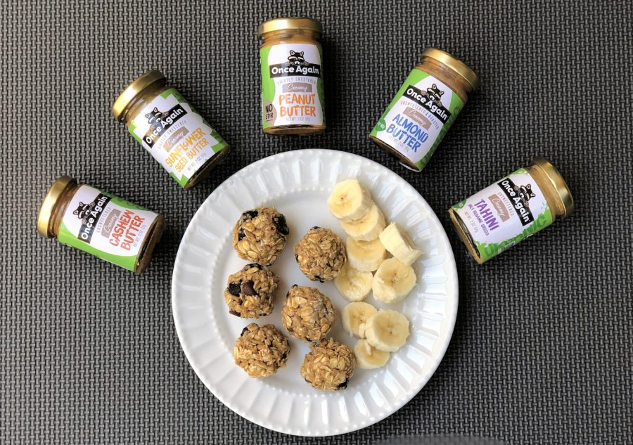 Nut Butter Oatmeal Protein Balls