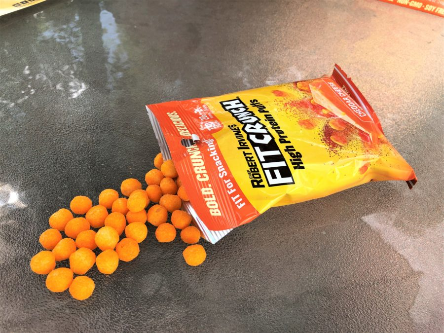 Protein Packed Fitcrunch Cheese Puffs