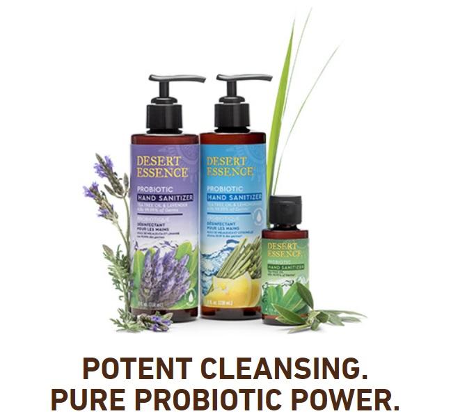 Desert Essence Probiotic Hand Sanitizer