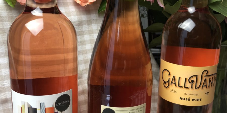 A Bouquet Of Rose Wine For Mother's Day